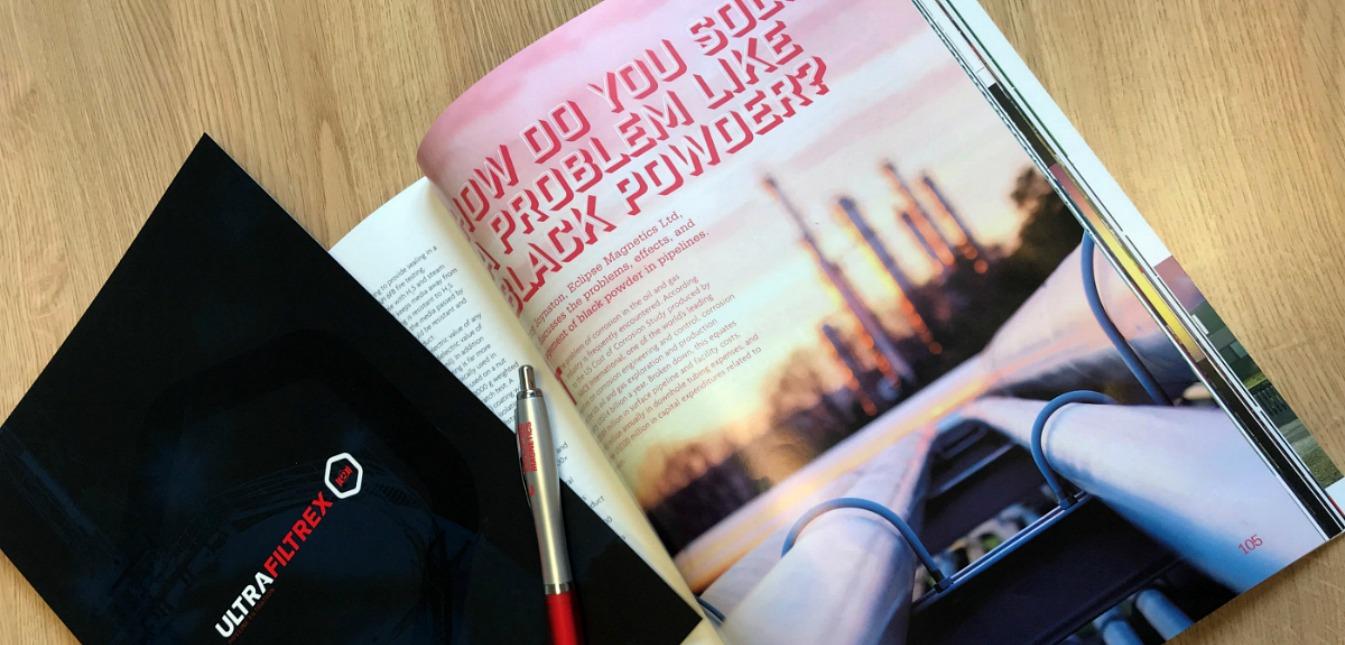 UltraFiltrex & Pipeline Corrosion Featured in World Pipelines Magazine