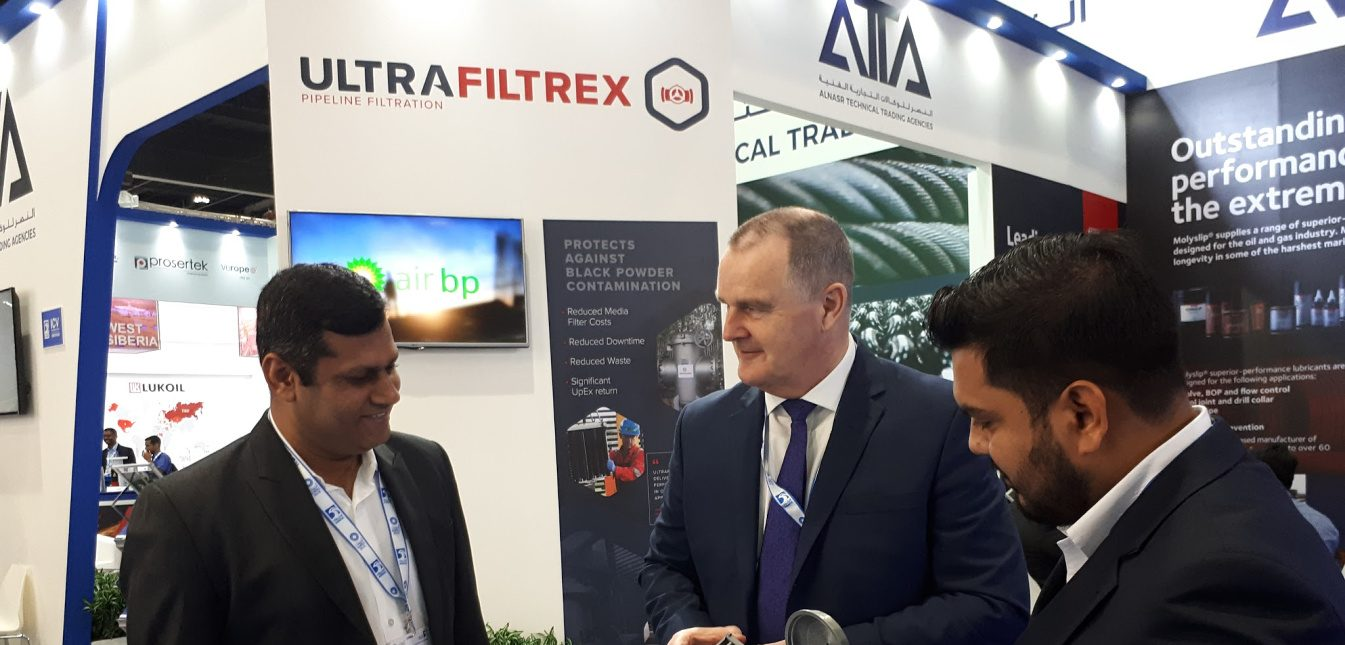 UltraFiltrex Success at Abu Dhabi International Petroleum Exhibition and Conference